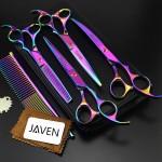 JAVEN Professional Dog Grooming Scissors Kit
