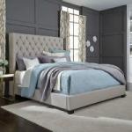 Price Drop! Monroe Upholstered Queen Bed (2 Colors)