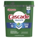 78-Count Cascade Complete ActionPacs Dishwasher Detergent (Fresh Scent) $8.90 + Free S&H