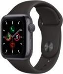 Apple Watch Series 5 w/ Black Sport Band (GPS, 40mm, Space Gray)