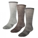 3-Pack Merino Men's & Women's Wool Socks