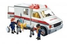 Playmobil Toys: Ice Cream Truck $14, Police Cruiser $11, Rescue Ambulance