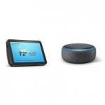 Amazon Echo Show 8 Smart Display + Echo Dot (3rd Gen.)