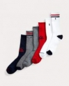 6-Pair Polo Ralph Lauren Men's Socks (Crew, Low-Cut, Ankle) $11.87 + free shipping