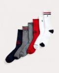 6-Pair Polo Ralph Lauren Men's Socks (Crew, Low-Cut, Ankle) $11.87 + free shipping