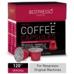 120-Count Bestpresso Coffee Nespresso Pods