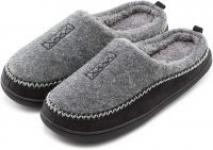 Men's Cozy Fuzzy Wool Fleece Memory Foam Slippers Slip On Clog House Shoes $6.79 + FS