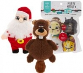 Petsmart Plush Holiday Dog Squeaker Toys