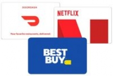 $100 Netflix, Uber, or DoorDash eGift Cards + $10 Best Buy eGift Card