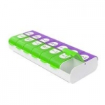 Ezy Dose Easy Fill Weekly Pill Organizer and Planner