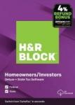 H&R Block Tax Software Deluxe + State 2019 + 4% Amazon Refund Bonus