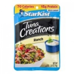 2.6oz StarKist Tuna Creations Pouch (various): 24-Pack $21.60, 12-Pack