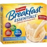 60-Pack 1.26oz Carnation Breakfast Essentials Powder Drink Mix (French Vanilla)