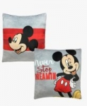 "2-Pack 14"" x 14"" Jay Franco Disney Mickey Dreamin' Squishy Pillow Set"