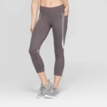 Women's C9 Champion Studio Mid-Rise Capris Leggings (Echo Gray)