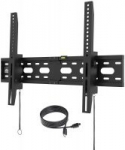 "Fortress Universal TV Wall Mount for 40-75"" TV w/ 5' HDMI Cable"