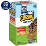 36-Count 1.48oz Quaker Big Chewy Granola Bars (Variety Pack)