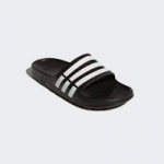 adidas Men's Duramo Slides (Dark Blue/Cloud White)