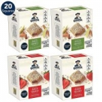 4-Pack 5-Ct Quaker Soft Baked Square Bars (Apple Cinnamon & Strawberry)