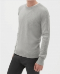 Extra 50% Off Clearance + 15% Off: Raglan Crewneck Sweater (Grey)