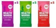 15-Count Health Warrior Chia Bars (Tropical Variety Pack)