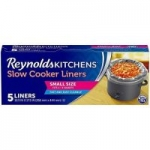 "5-Count Reynolds Kitchens Premium Small Slow Cooker Liners (10.5""x17.5"")"