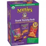 12-Count Annie's Baked Snack Crackers & Graham Snacks (Variety Pack)