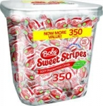 350-Count Bob's Sweet Stripes Soft Peppermint Candy (61.73oz)