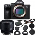 Sony Mirrorless Camera Bundles: a7 III + Tamron 35mm f/2.8 Di III Lens