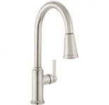 Mirabelle 1.8 GPM Single-Handle Pull-Down Kitchen Faucet (Amberley)