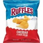 40-Ct 1oz Ruffles Potato Chips (Original or Cheddar Sour Cream)