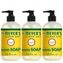 3-Pack 12.5oz Mrs. Meyer´s Clean Day Hand Soap (Honeysuckle)