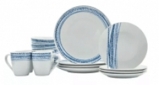 16-Piece Tabletops Unlimited Aaron Dinnerware Set (Service for 4)