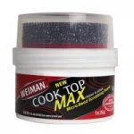 9oz Weiman Cooktop Cleaner Max w/ Micro-Bead Scrubbing Pad