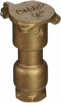 Orbit WaterMaster Underground 3/4-Inch Brass Quick Coupler Valve