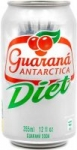 Diet Guarana Antarctica Brazilian Soda 12 Pack for $6.99