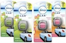 4-Ct Febreze Car Air Fresheners (2x Gain Original + 2x Gain Island Fresh)