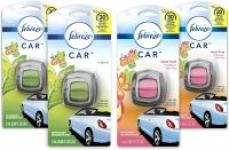 4-Ct Febreze Car Air Fresheners (2x Gain Original + 2x Gain Island Fresh)