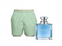 12-Pack Margaritaville Boxer Shorts + Nautica Voyage Cologne