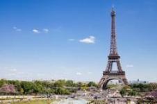 Roundtrip Flight: Los Angeles to Paris France