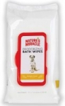 100-Count Nature's Miracle Deodorizing Bath Wipes For Dogs (Honey Sage)