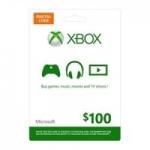 $100 Microsoft Xbox Live Gift Card (Digital Code)