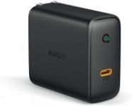 Aukey 3.9' USB C to Lightning Cable $8, 60W GaN Power Tech USB-C Wall Charger
