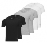 6-Pack Puma Men's Undershirt Tees (Select Colors)