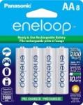 8-Pack Panasonic Eneloop AA Ni-MH Rechargeable Batteries