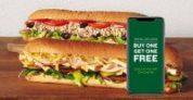 Subway Restaurant: Buy One Footlong Sub Get One Footlong Sub