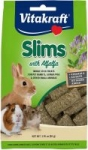 1.76oz. Vitakraft Slims with Alfalfa Nibble Stick Treats