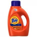 40oz Tide Liquid Detergent (Original HE or Free & Gentle HE)