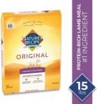 15-Lb Nature's Recipe Adult Dry Dog Food (Lamb Meal & Rice)