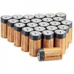 AmazonBasics Everyday Alkaline Batteries: 8-Pk 9V $7.15, 24-Pk C Cell
